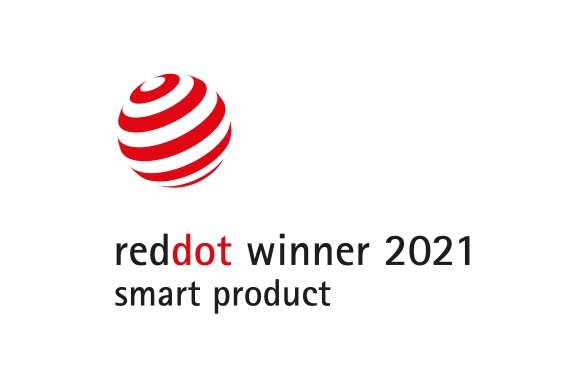 red dot smart product badge
