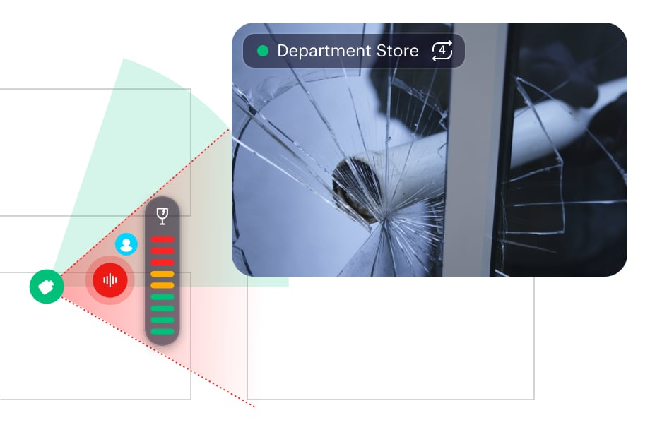 Monitor video smarter with threat detection in real-time